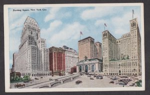 Unused Postcard: New York City – Hotel Biltmore and Grand Central Station
