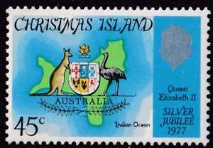 Christmas Island #85 Mint