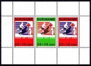 Suriname 1979 Voor Het Kind Child Welfare Youth Stamp MNH