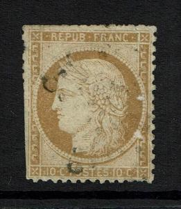 France # 54, Used, Mixed Condition, Sm shallow thin, see notes - Lot 073017