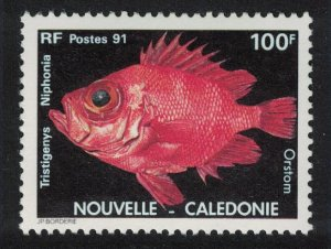 New Caledonia Japanese Bigeye Fish 100f SG#920