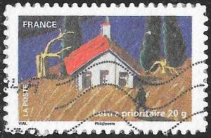 France 3971 Used - Celebrating the Earth - Farmers Field & House
