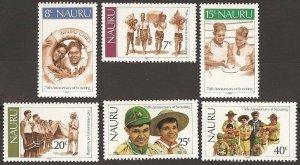 1982 Scouts Nauru 75th anniversary
