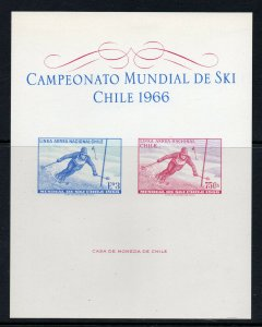 Chile - Sc# 266 & 267 IMPERF S/S  / MLH -  Lot 0420735