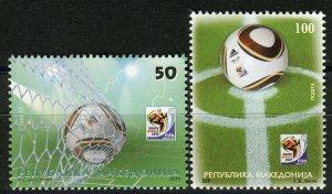 089 - MACEDONIA 2010 - World Football Championship - MNH Set