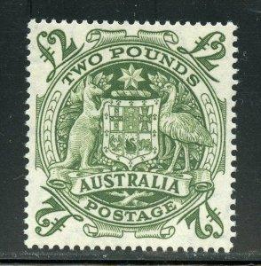 AUSTRALIA  SCOTT#221 HIGH VALUE MINT NEVER HINGED