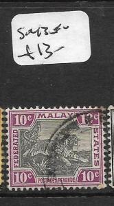 MALAYA   FMS  (PP1007B)  TIGER 10C   SG 43        VFU