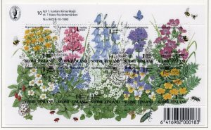 Finland Sc 941 1994  Flowers stamp sheet used