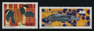 Brazil 2637-8 MNH Fruit, Fish