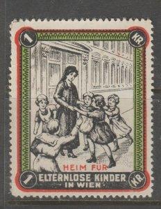 Cinderella revenue fiscal stamp 9-9-43 Austria nice