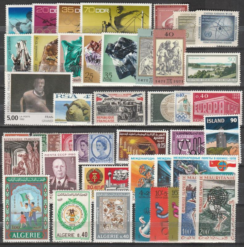 Worldwide  Lot-  Mint Never Hinged  (A11406)