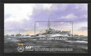 PITCAIRN ISLANDS SGMS668 2004 HMS PITCAIRN MNH