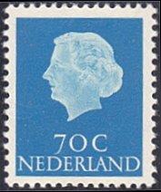 Netherlands # 357 mnh ~ 70¢ Queen Juliana