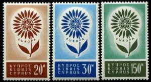 HERRICKSTAMP CYPRUS Sc.# 244-46 Europa Stamps Cat. Value $35.00