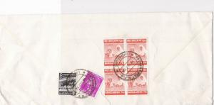 Bangladesh 1978 Cert. Posting Airmail From Jaansco Multi Stamps Cover Ref 29120