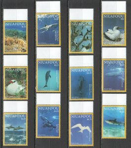 NW0013 2016 Niuafo'Ou National Geographic Marine Life Oiseaux Michel 60€ Set