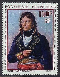 HERRICKSTAMP FRENCH POLYNESIA Sc.# C54 Napoleon Painting Superb NH