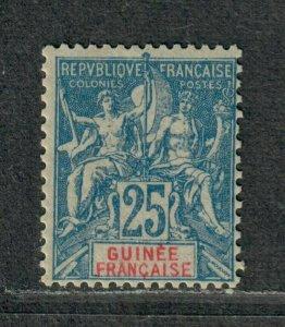 Fr. Guinea Sc#11 M/NH/F-VF, Cv. $24