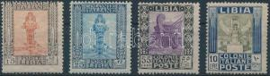 Italian Libya stamp Definitive values Hinged 1921 Mi 28-29, 32, 35 WS154494