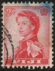 Fiji #166 - Queen Elizabeth II - Used (Fi-005)