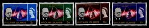 Pitcairn Islands 56-9 MNH Winston Churchill, St Pauls Cathedral