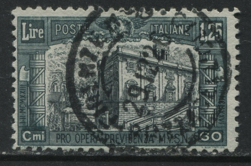 Italy 1926 Semi-Postal1.25 lire + 60¢ CDS used