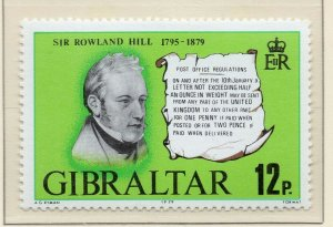 Gibraltar 1979 QEII Early Issue Fine Mint Unmounted 12p. NW-99286