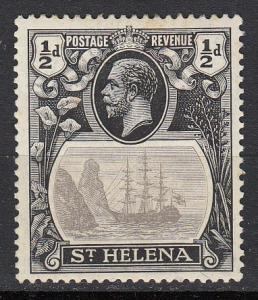 St. Helena - 1912 KGV 1/2p Sc# 61 - MH (360N)