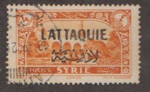 Latakia Scott #14 Stamp - Used Single