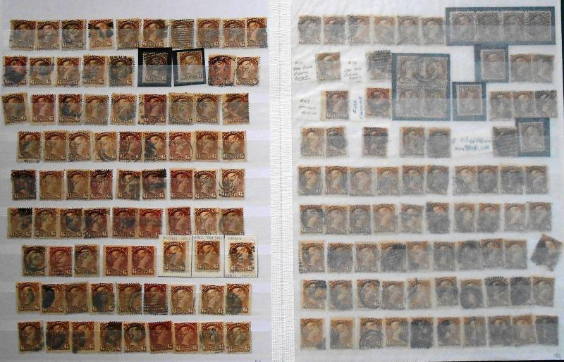 Canada Scott 14 - 46 - Huge Used Lot On Stock Pages. 25K Cat.  #02  CAN14COLL