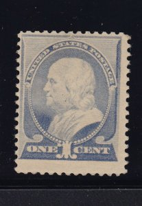 212 F-VF original gum never hinged with nice color cv $ 290 ! see pic !