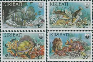 Kiribati 1985 SG232-235 Reef Fish set MNH