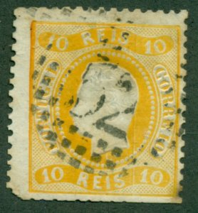 PORTUGAL #26, Used, Scott $110.00