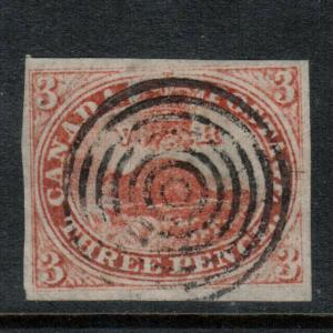 Canada #1 Very Fine Used - Very Fresh **With Certificate**