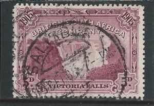 RHODESIA 1905 FALLS 5d CLARET GU SG 96 CAT £60