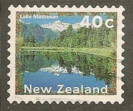 New Zealand  Scott   1359E    Scenic View      Used