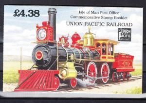 Isle of Man Scott 518bc booklet (Catalog Value $17.00)