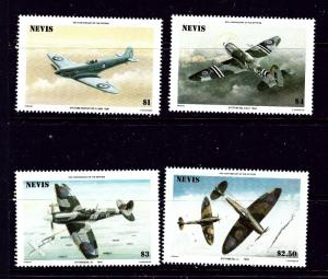Nevis 460-63 MNH 1986 Airplanes