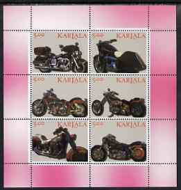 KARJALA SHEET MOTORCYCLES