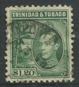 STAMP STATION PERTH Trinidad &Tobago #60 KGVI Pictorial Definitive Used 1938-41