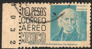 MEXICO C197, $10P 1950 Definitive wmk 279 Used (948)