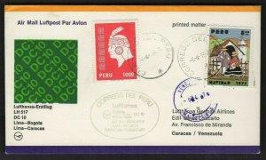 FFC LIMA PERU TO CARACAS (K3014)