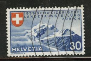 Switzerland Scott 252 used1939 stamp