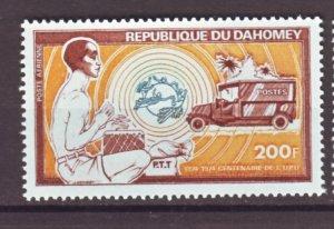 J22352 Jlstamps 1974 dahomey hv of set mnh #c224 truck
