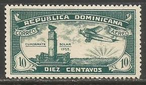Dominican Republic C12 MNG AIRPLANE C688