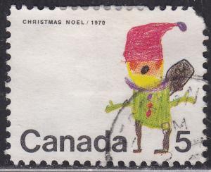 Canada 519 USED 1970 Santa Claus