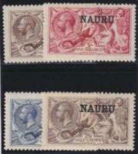 Nauru 1916-1923 SC 13-16 MLH Set