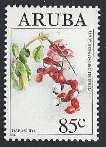Aruba 111 85c Pithecellobium unguis cati flower 1994 mnh