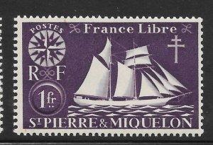Saint Pierre and Miquelon Mint Never Hinged [4155]