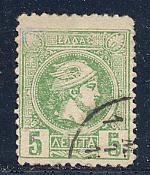 Greece Scott # 109, used